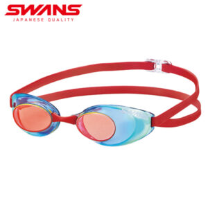 [SWANS] Adults Racing Fina Approved Mirror Non-Cushion Swimming Goggle SR-10M (Made in Japan)