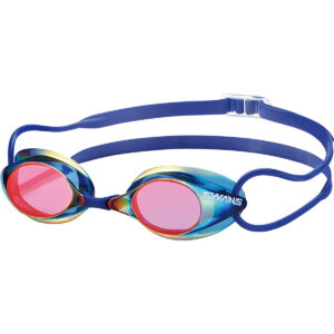[SWANS] Adults Racing Fina Approved Mirror Non-Cushion Swimming Goggle SR-1M (Made in Japan)