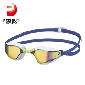 [SWANS] Adults Racing Fina Approved Mirror Swimming Goggle SR-72M PAF (Made In Japan)