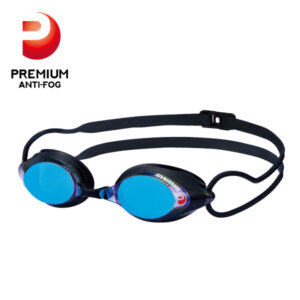 [SWANS] Adults Racing Fina Approved Mirror Swimming Goggle SRX-M PAF (Made in Japan)