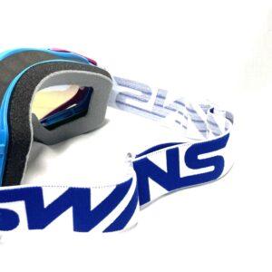 [SWANS] Adults MX-TALON-M BL/PI Dirt Motocross Goggles Mirror Type