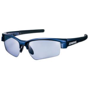 [SWANS] Unisex Sunglasses Ultra Ice Blue Polarized Lens LI SIN-0167 MEBL (Made in Japan)