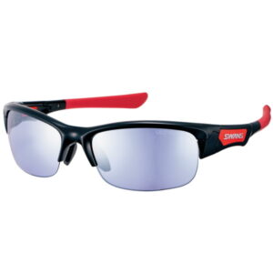 [SWANS] Unisex Sunglasses Ultra Ice Blue Mirror Lens SPRINGBOX SPB-0714 BK (Made in Japan)
