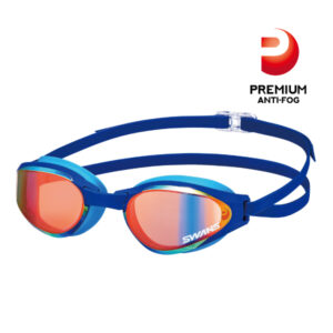 [SWANS] Adults Racing/Outdoor Mirror Swimming Goggle SR-81M PAF (Made in Japan)