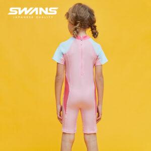 [SWANS] Kids/Junior One Piece Swim Suit Trunk