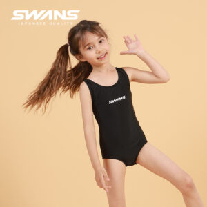 [SWANS] Kids/Junior One Piece Girls Swim Suit