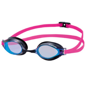 [SWANS] Adult Racing Mirror Lens Training Swimming Goggle SR-31MTR (Made In Japan)