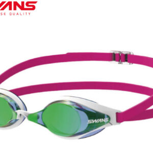 [SWANS] Adult Racing Non-Cushion Mirror Lens Swimming Goggle SR-7M TF (Made In Japan)